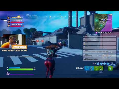 Fortnite 12.61 Storm The Agency Challenges   South African Streamer In Korea