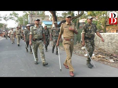 ভোটারদের মনোবল বাড়াতে ডায়মন্ড হারবারে পুলিশ ভোটারদের কাছে। Breaking Bengal