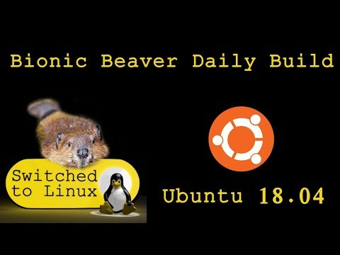 Ubuntu 18.04 Bionic Beaver Daily Build