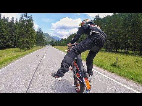 Supermoto holidays 2017 // Ktm exc crash in the jungle!!! // Wheelie boyz