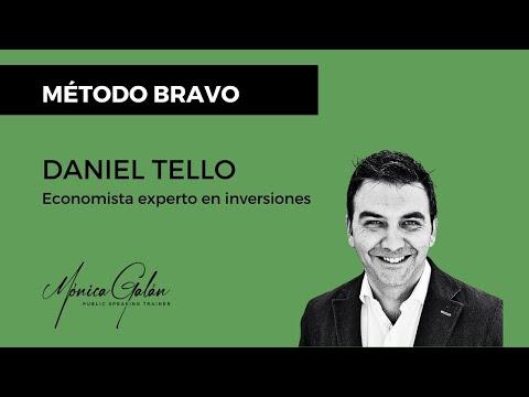 Daniel Tello, economista experto en inversiones, recomienda el Método BRAVO para hablar en público
