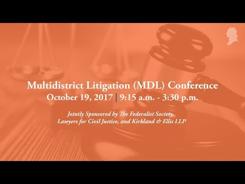 Multidistrict Litigation (MDL) Conference [Live Stream]