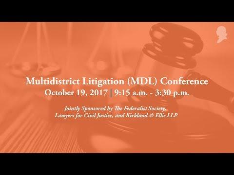 Multidistrict Litigation (MDL) Conference [Live Stream]