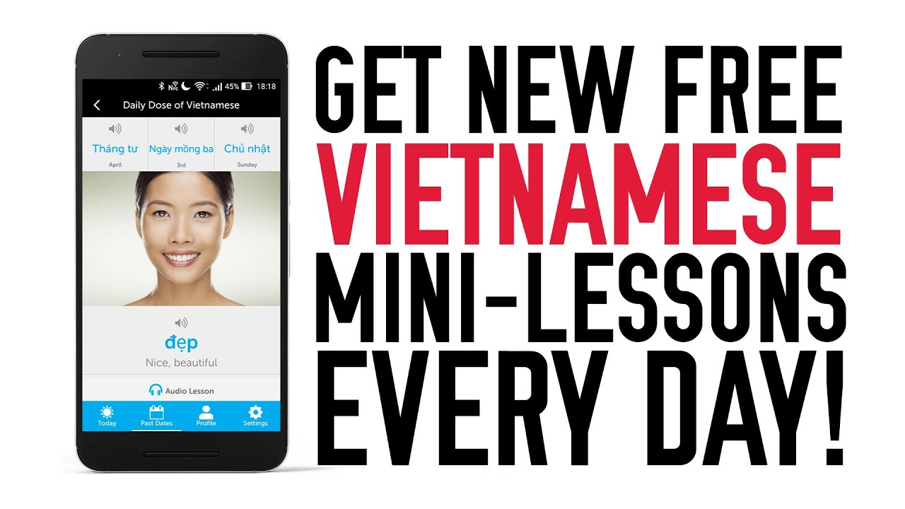Get Vietnamese Mini-Lessons Delivered To You Everyday!