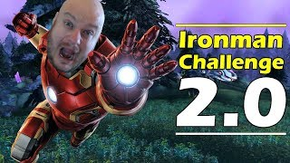 WoW Ironman Challenge 2.0: Patch 7.3.5 (Part 1) !!