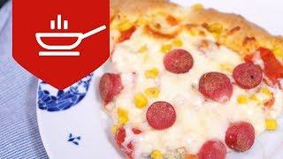 Mayasız Pizza Tarifi | En Lezzetli Pizza Nasıl Yapılır?