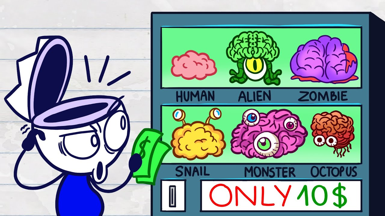 Download Max Picks His Own Brain - Day of Career Short Animated Pencil