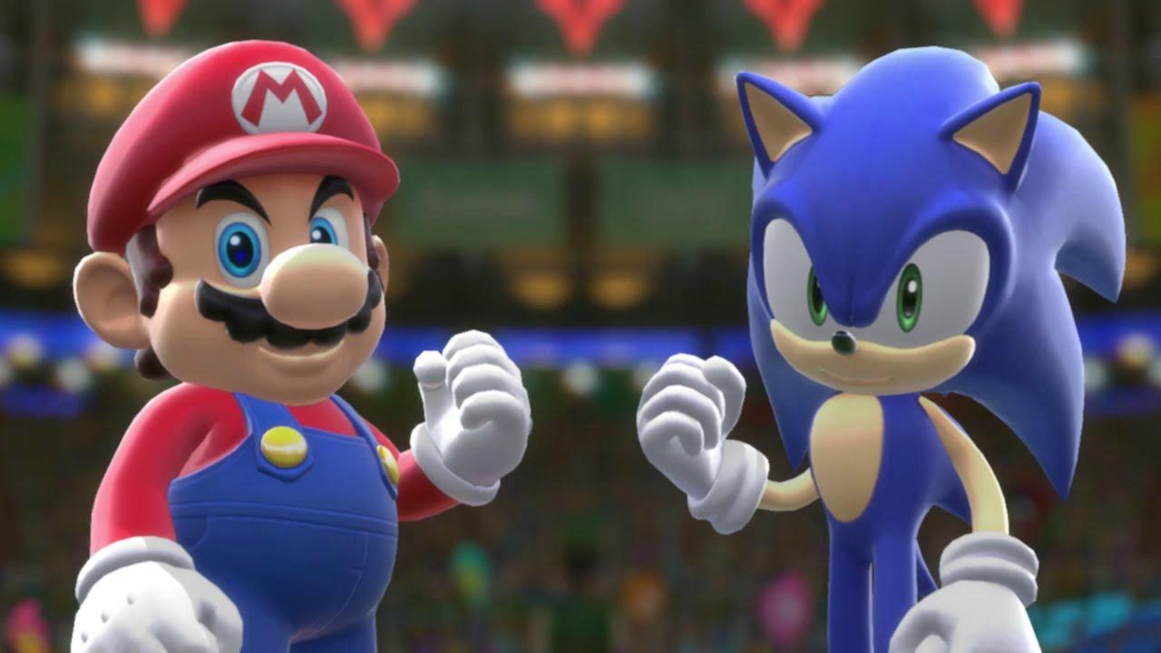 Mario Sonic En Los Juegos Olimpicos Rio 2016 Pelicula De