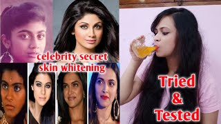 OMG ! Bollywood celebrities beauty secrets for fair,bright & glowing skin|glutathione skin whitening