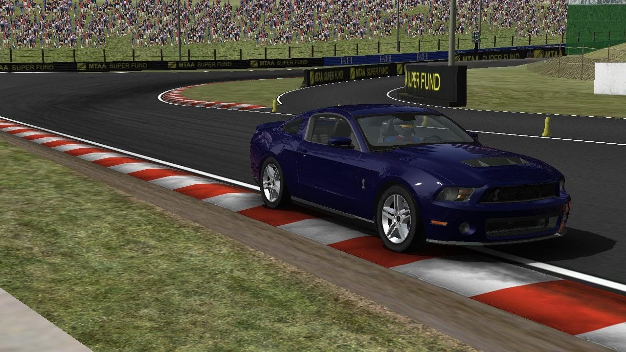 rFactor 2010 Mustang Shelby GT500 - YouTube