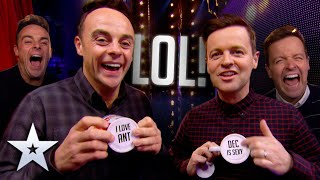 Ant & Dec's BEST BANTER & PRANKS! | Britain's Got Talent
