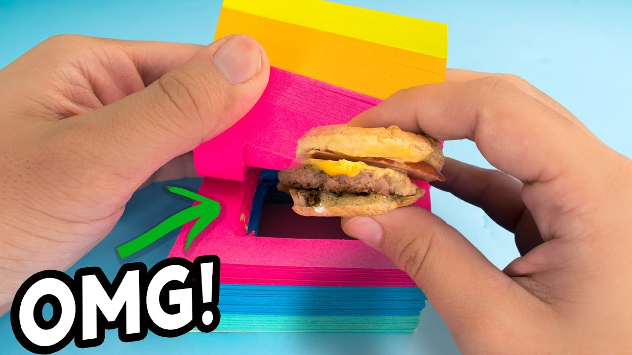 Weird Ways To Sneak Food Into Class Back To School Hacks