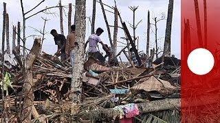 La ayuda humanitaria, atascada en Filipinas