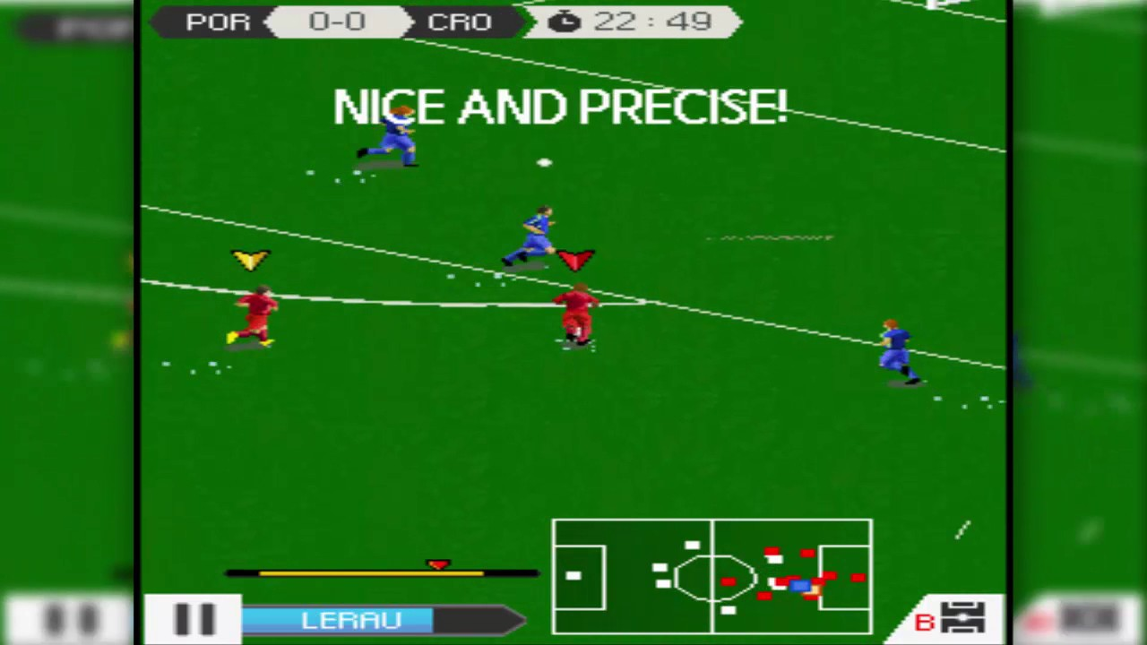real football java game