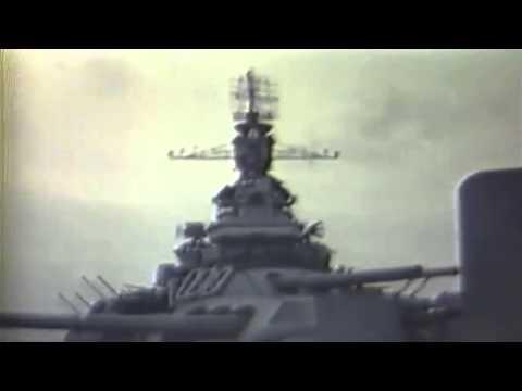 USS Nevada (BB-36), Burial At Sea, 4/6/1945 (full)