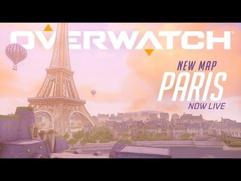 [NOW PLAYABLE] Paris   New Assault Map   Overwatch thumbnail