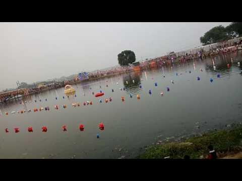 Chhath pooja mahamaya talab ambikapur surguja chhattisgarh