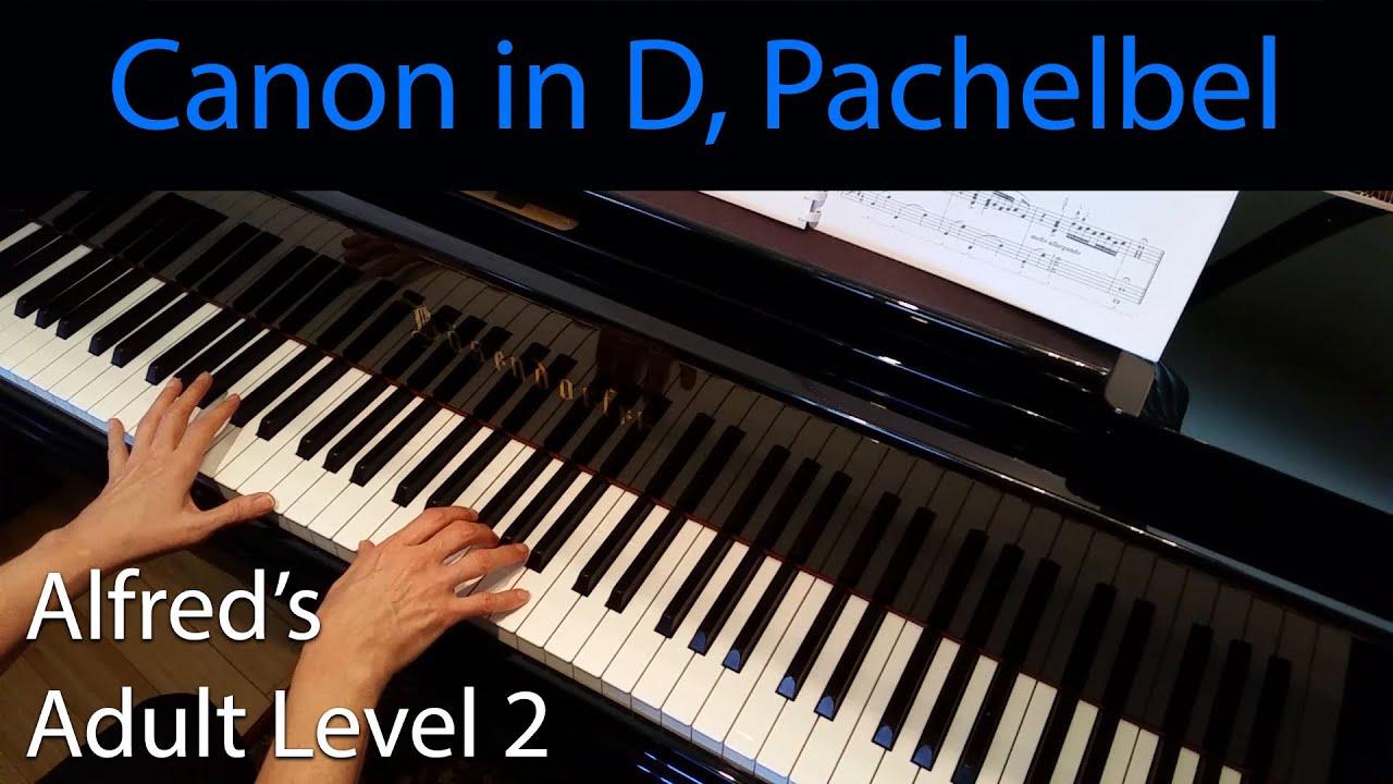 Canon in d pachelbel intermediate piano solo alfreds adult canon in d pachelbel intermediate piano solo alfreds adult level 2 hexwebz Gallery
