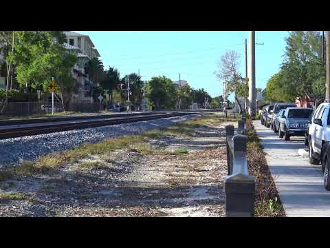 Brightline Train's Meet At Atlantic Ave.