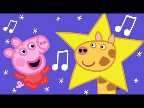Twinkle Twinkle Little Star | Peppa Pig Nursery Rhymes & Kids Songs | Peppa Pig Songs | Baby Songs