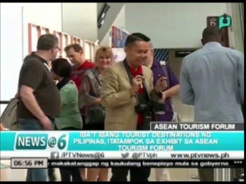 News@6: Iba't ibang tourist destinations ng Pilipinas, itatampok sa exhibit sa ASEAN Tourism Forum
