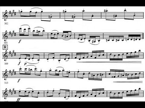 """Malcolm McNab's trumpet solo on the """"Tchaikovsky Violin Concerto in D Major"""""""