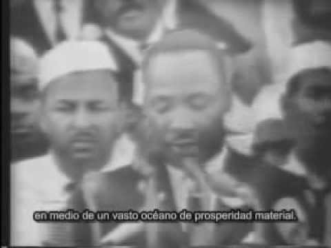 "Martin Luther King . ""Yo tengo un sueño"" . ""I Have a Dream"" Washington, USA, 28/08/1963"