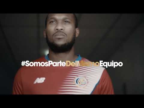 New Balance - Selección Nacional de Costa Rica - Somos parte del mismo equipo