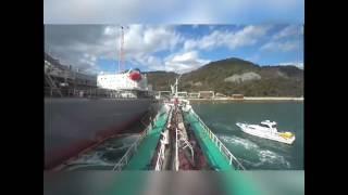 操船動画 ATAGOMARUNO,2 〈川尻 神田造船    離舷・出港 猫瀬戸〉20170111 T中C/E