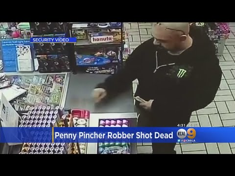 Police Confirm Suspect Killed In Thursday OIS Was Penny-Pincher Bandit