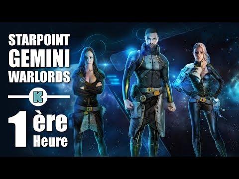 [FR] Starpoint Gemini Warlords Gameplay Découverte Combat spatial / gestion de flottes / commerce