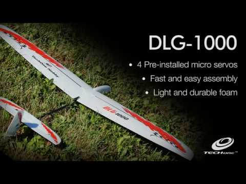 TechOne Hobby DLG-1000 Discus Launch Glider RR