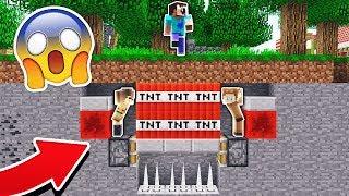 MOOSECRAFT AND GOLDY TROLL NOOBS IN MINECRAFT! (Minecraft Trolling)