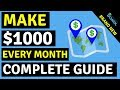 How To Get Paid Daily Using Google Maps And Make Money Online.