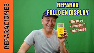 Reparar DISPLAY LCD