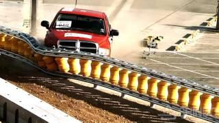 rolling barrier mash tl3 tl4 pickup truck test