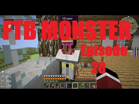 FTB Monster LP Episode 20 - Genetic Manipulation