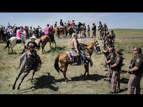 Native Americans Gather To Block Dakota Pipeline