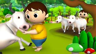 Magical Bull Story - जादुई बैल की कहानी 3D Animated Kids Hindi Fairy Moral Stories Tales
