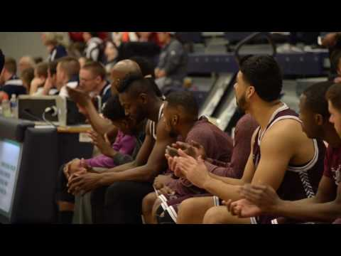 2017 Men's Basketball CCAC South Division Championship Video