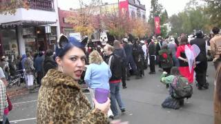 Halloween Parade 6 Ashland Oregon 2009 1st time presented HD