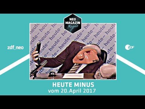 heute- vom 20. April 2017 | NEO MAGAZIN ROYALE mit Jan Böhmermann - ZDFneo