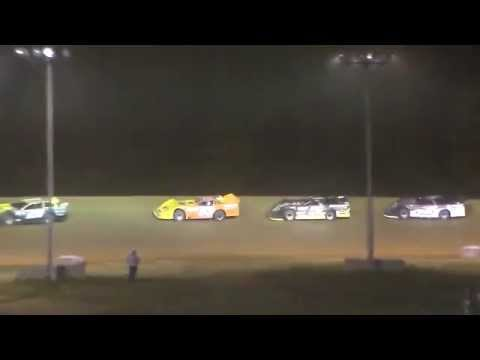 Dog Hollow Speedway - 5/22/15 Super Late Model Finish