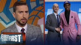 Knicks offseason will be a failure if drafting Barrett is all they do | NBA | FIRST THINGS FIRST
