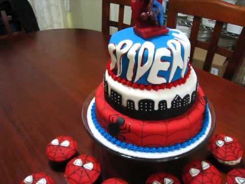 Pastel De Spiderman Youtube