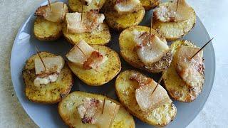 Запеченная картошка с салом ПРОСТОЙ РЕЦЕПТ Быстро И Вкусно