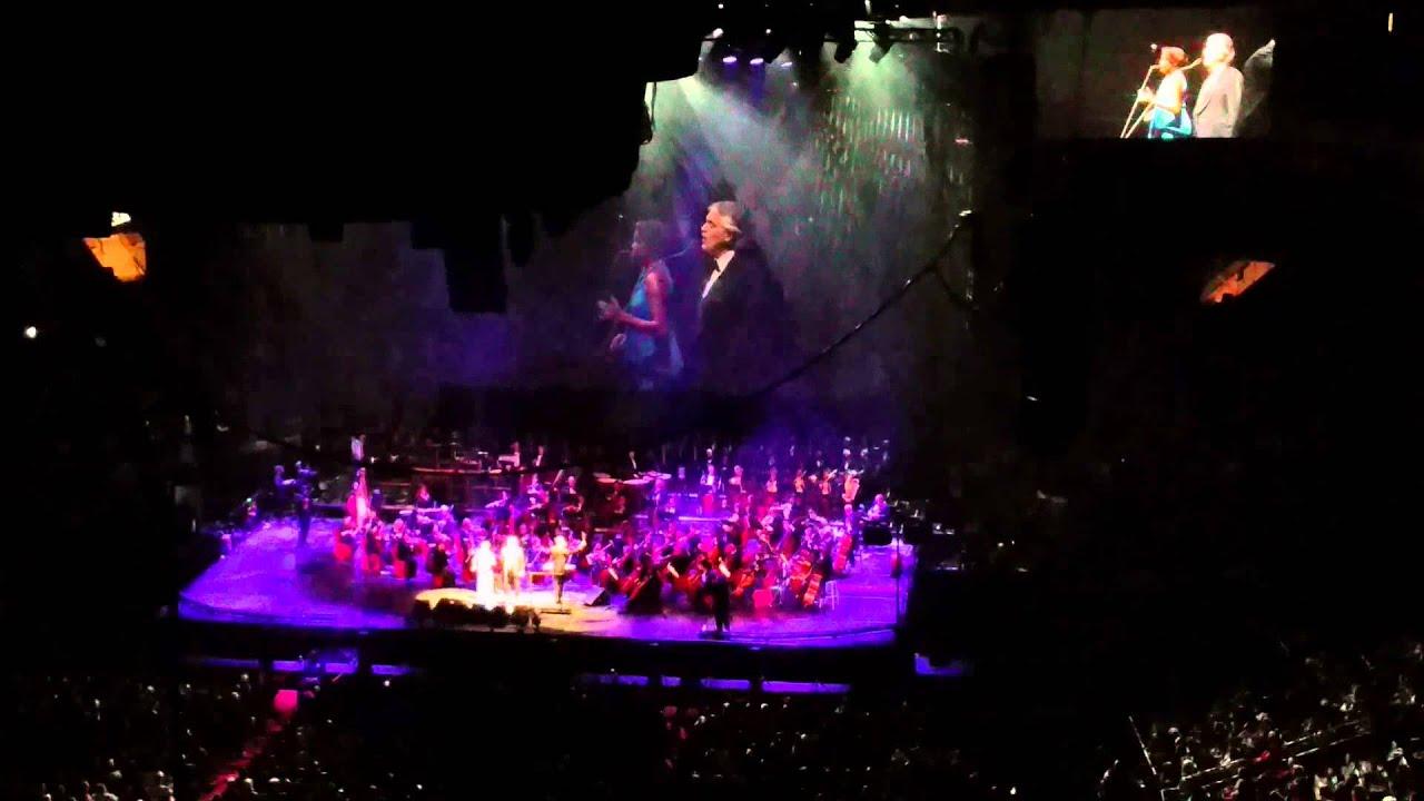 Andrea Bocelli Dec 2014 Madison Square Garden Youtube