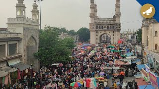 Ramadan Shopping at Charminar after Lockdown declare in State