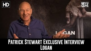 Patrick Stewart Exclusive Interview - Logan & playing Poop in the Emoji Movie