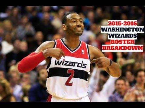 2015-2016 Washington Wizards Roster Breakdown: NBA 2k16 Rosters